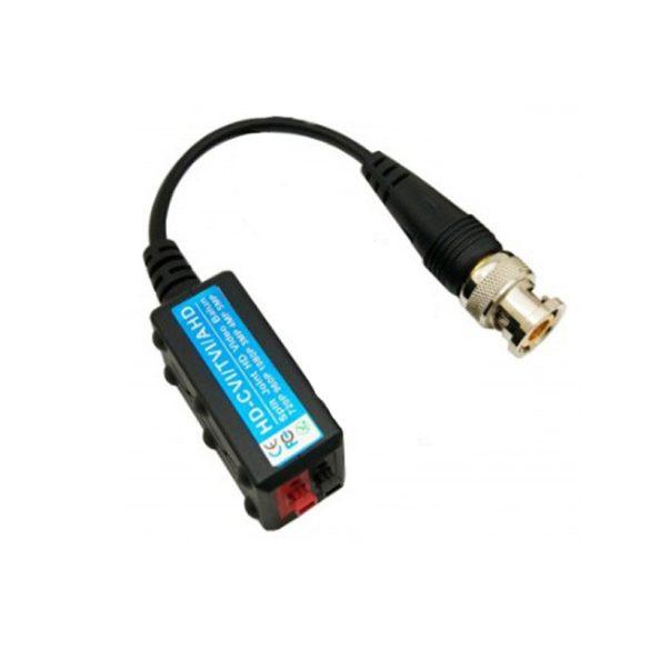 5MP HD CCTV /CVI / TVI / AHD adapter passzív videó Balun hím BNC és UTP koaxiális CAT5 kamera