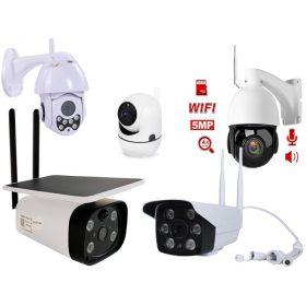 Wi Fi kamerák Vezeték nélküli