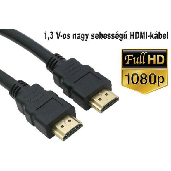HDMI Kábel 1,5 m nagy sebességű HDMI V1.3 hím-hím digitális A / V kábel, teljes 1080P