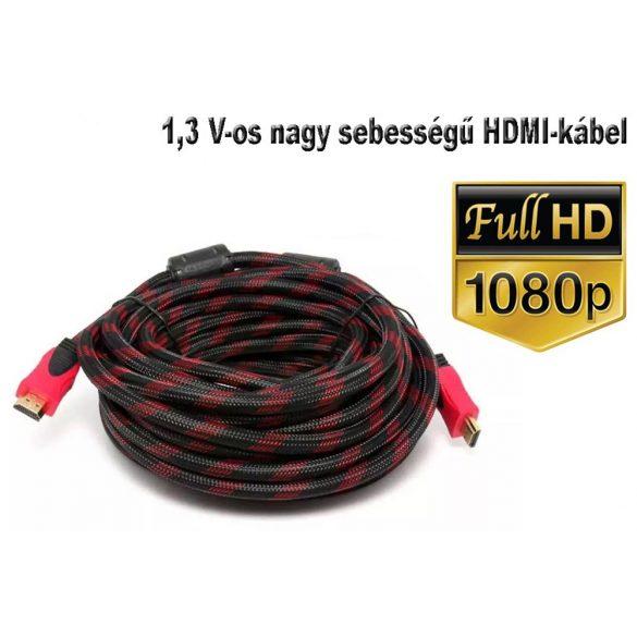 HDMI Kábel 10 m nagy sebességű HDMI V1.3 hím-hím digitális A / V kábel, teljes 1080P