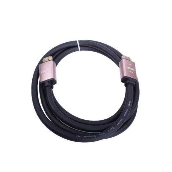 1.5m-es Nagy Sebességű HDMI Kábel 2.0v, 4K-60Hz, aranyazót apa-apa csatlakozó