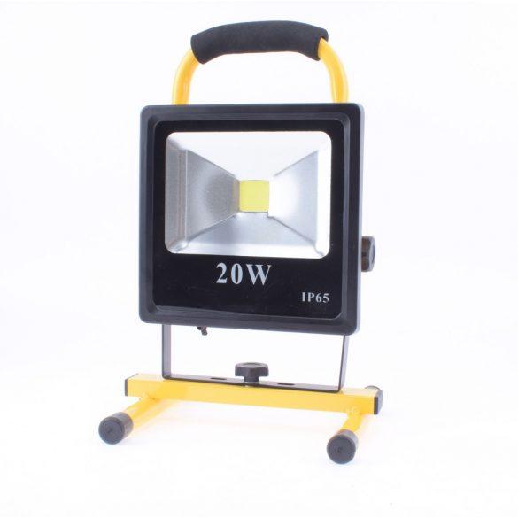 Akkumlátoros Reflektor 20 w