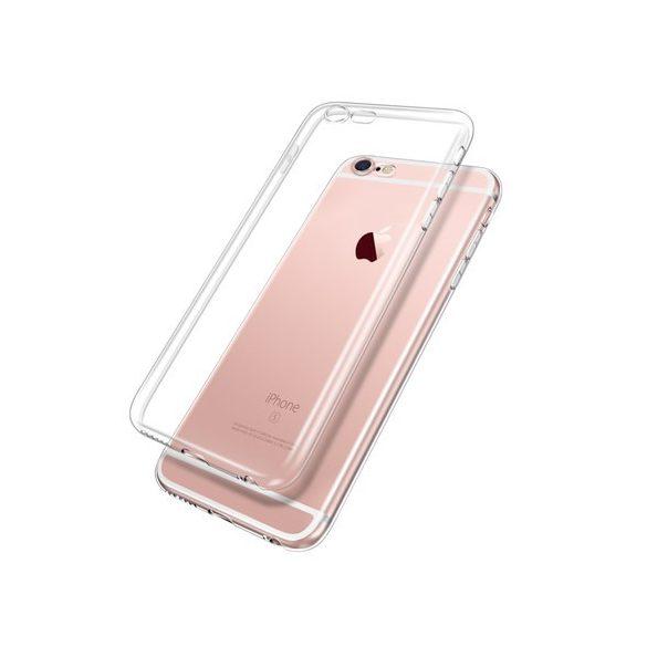 Apple iPhone  szilikon tok, ultravékony, átlátszó